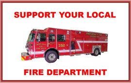 Support your local Fire Department